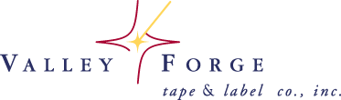Valley Forge Tape and Label Company logo